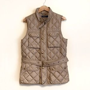 NWT Polo Ralph Lauren Down Feather Quilted Vest